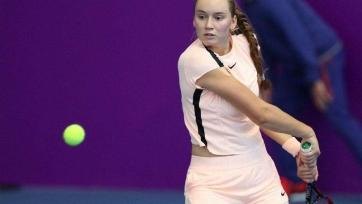 Рыбакина вышла в полуфинал турнира в Санкт-Петербурге
