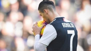 Роналду не попал в заявку «Ювентуса» на матч с «Брешией»