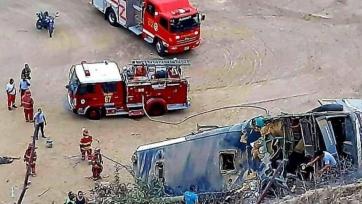 В Перу случилось ДТП с участием футбольных болельщиков. 8 человек погибли
