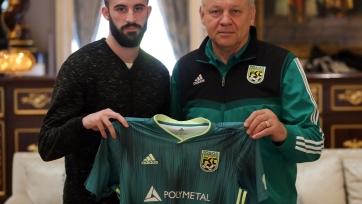 «Тобол» подписал контракт с македонским защитником