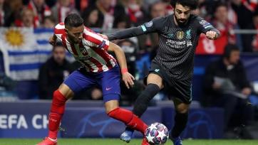 «Атлетико» в Мадриде минимально обыграл «Ливерпуль»