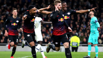«РБ Лейпциг» в гостях обыграл «Тоттенхэм» благодаря голу с пенальти