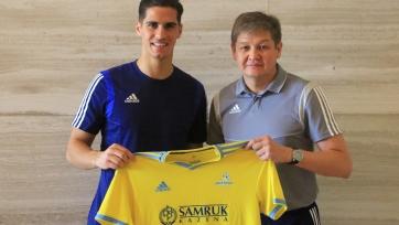 «Астана» объявила о подписании форварда сборной Кипра