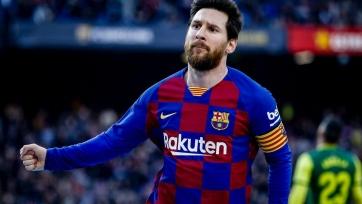 Покер Месси помог «Барселоне» разгромить «Эйбар»