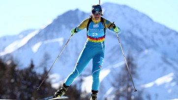 Казахстанские биатлонистки финишировали 18-ми в женской эстафете