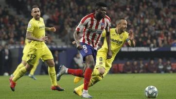 «Атлетико» в Мадриде разобрался с «Вильярреалом»