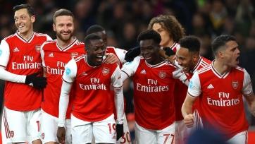 Рекордный гол «Арсенала» и реакция Артеты. Видео