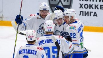 «Барыс» выиграл во Владивостоке и вышел на второе место в Восточной конференции. Видео