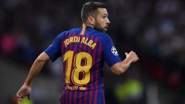 Альба уже в общей группе «Барселоны»