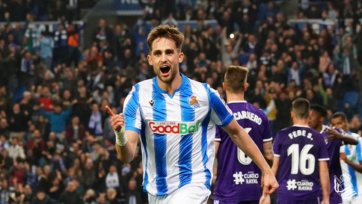 «Реал Сосьедад» добыл минимальную победу над «Вальядолидом»