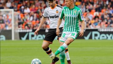 «Валенсия» прервала 5-матчевую серию неудач, выиграв «Бетис»