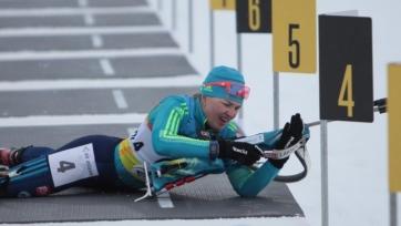 Две казахстанские биатлонистки квалифицировались в персьют чемпионата Европы