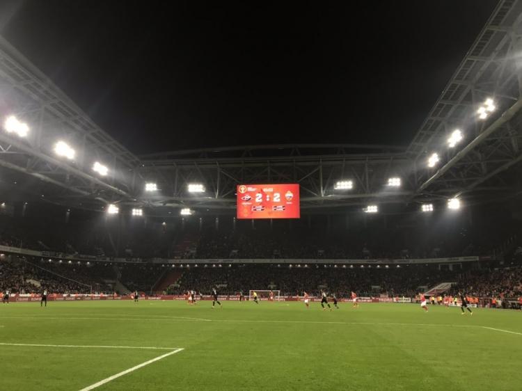 «Спартак» – ЦСКА – 3:2. Текстовая трансляция матча