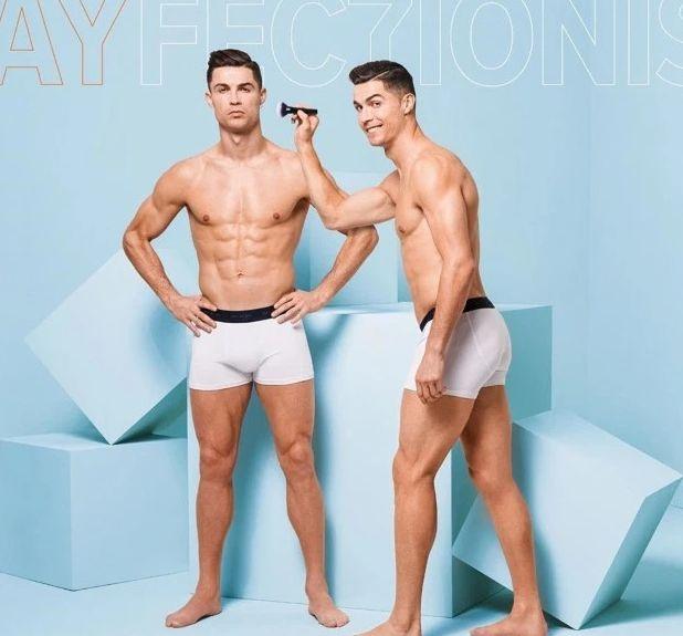 Криштиану Роналду снялся в рекламе нижнего белья. Фото