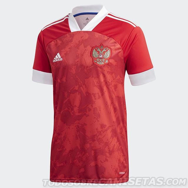Появились варианты домашней и гостевой форм сборной России на сезон 2020/2021 гг.
