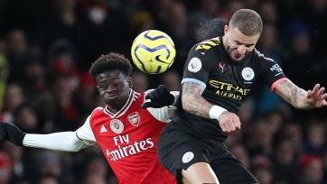 Определилась дата проведения отложенного матча «Манчестер Сити» - «Арсенал»
