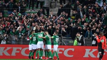 «Сент-Этьен» благодаря голу Будебуза в добавленное время обыграл «Ренн» и стал вторым финалистом Кубка Франции