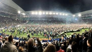 Как «Сент-Этьен» в финал Кубка Франции вышел, а затем гулял. Видео