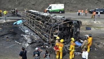 В результате автокатастрофы погибли 9 гвинейских футболистов