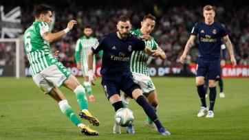 «Реал» упустил лидерство в Ла Лиге, проиграв «Бетису»