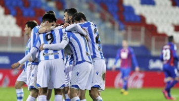 «Реал Сосьедад» на выезде победил «Эйбар»