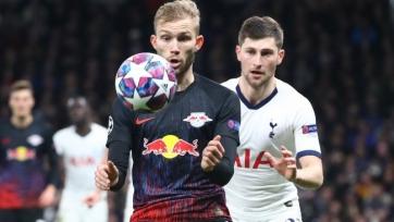 «РБ Лейпциг» разгромил «Тоттенхэм» и вышел в 1/4 финала Лиги чемпионов