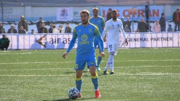 Дебютный гол Щеткина спас «Астану» в матче с экс-командой форварда