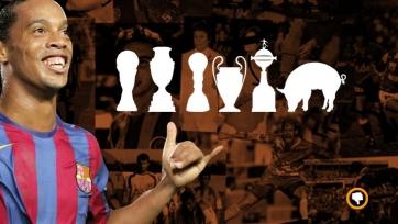 Роналдиньо забил 5 мячей и сделал 6 голевых передач в финале тюремного турнира