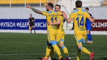 «Астана» победила в Актау, «Шахтер» нанес поражение «Кайрату»