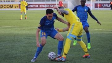 Новичок «Каспия» получил серьезную травму в матче с «Астаной»
