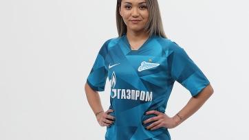 Игрок женской сборной Казахстана перешла в «Зенит»