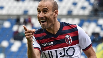 «Болонья» хочет продлить контракт с 38-летним экс-форвардом «Интера»