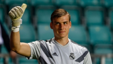 Украинский голкипер Лунин заявил о желании стать первым номером в «Реале»