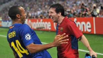 Месси: «Я не смел смотреть Анри в глаза, когда он впервые зашел в раздевалку «Барселоны»
