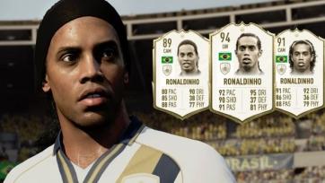 Роналдиньо могут удалить из FIFA 20