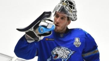 Голкипер сборной Казахстана покинет «Барыс»