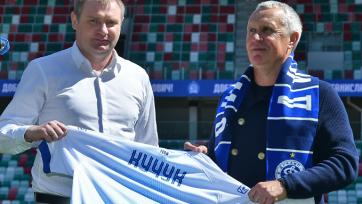 Минское «Динамо» объявило о назначении Кучука