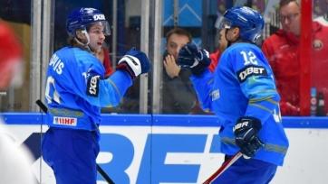Казахстан добился прогресса в рейтинге хоккейных сборных