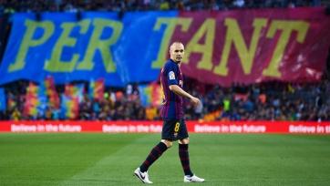 Иньеста поделился эмоциями о последней победе за «Барселону»