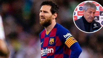 Сетьен уверен, что Месси не покинет «Барселону»