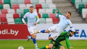 Минское «Динамо» на своем поле уступило «Слуцку»