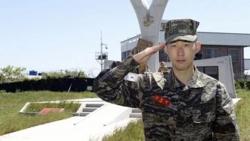 Сон Хын Мин завершил прохождение военных сборов на родине