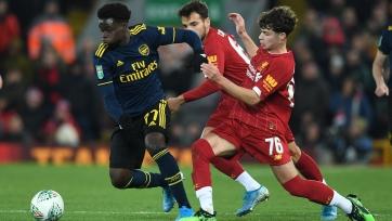 «Ливерпуль» нацелился на юного вингера «Арсенала»