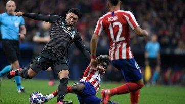 «Атлетико» и «Ливерпуль» могут совершить звездный обмен полузащитниками