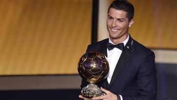 Роналду назван лучшим обладателем «Золотого мяча», начиная с 1992 года