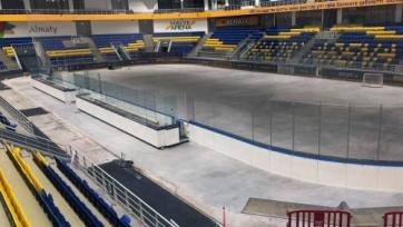 Хоккейный клуб «Алматы» меняет свою площадку под канадский размер