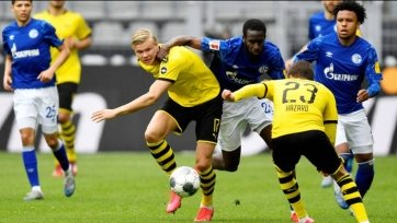 Холанд не покинет дортмундскую «Боруссию» до лета 2022 года
