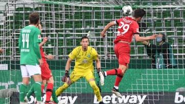 «Байер» в матче с «Вердером» повторил достижение Бундеслиги шестилетней давности