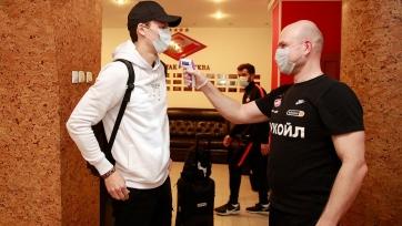 Игроки «Спартака» сдали тесты на COVID-19: Бакаев болен, Зобнин с антителами