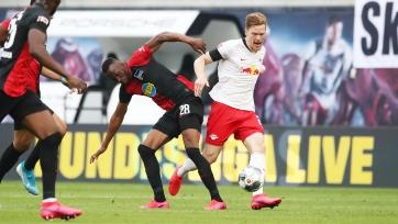 «Лейпциг» и «Герта» забили четыре мяча на двоих